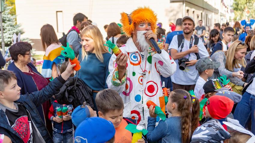 Фото №961374. Карнавал «Зайчество» от Упсала-Цирка  (Санкт-Петербург), Альметьевск, 07.09.2019