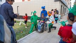 Фотосессия на память о карнавале