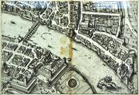Вид Базеля. 1615.  (фрагмент). Маттеус Мериан I (1593 -1650)