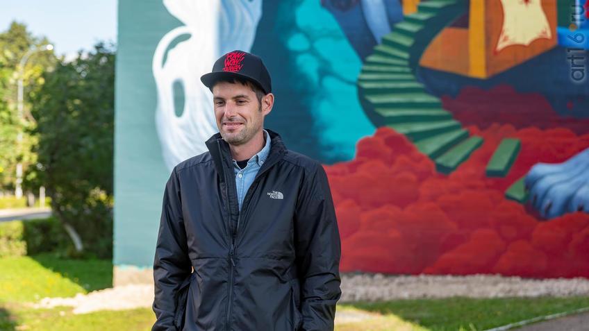 Антонио Сегура Донат (Dulk). Испания.::Паблик-арт программа «Сказки о золотых яблоках»