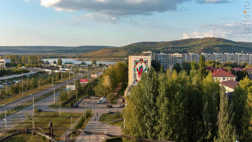 Фото №961529. Альметьевск с высоты птичьего полета, 07.09.2019