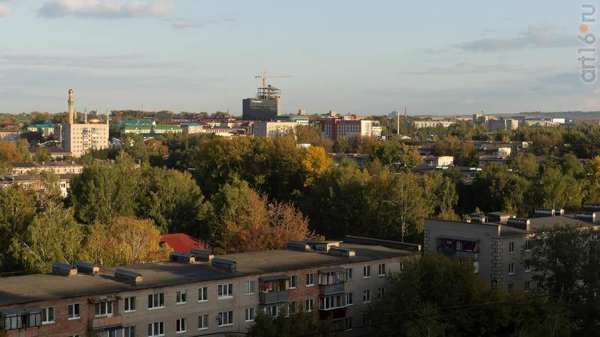 Фото №961534. Альметьевск с высоты птичьего полета, 07.09.2019