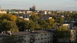 Альметьевск с высоты птичьего полета, 07.09.2019