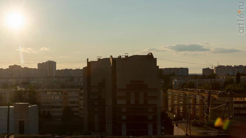 Фото №961549. Альметьевск с высоты птичьего полета, 07.09.2019
