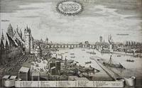 Вид Франкфурта с восточной стороны. 1646. Маттеус Мериан I (1593 -1650)