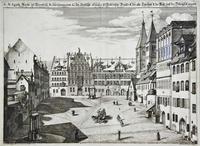 Коляска на площади св. Эгидия. 1682.  Краус, Иоган Ульрих (1655-1719)