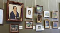 Фрагмент экспозиции выставки ''Художественный мир семьи Визелей''