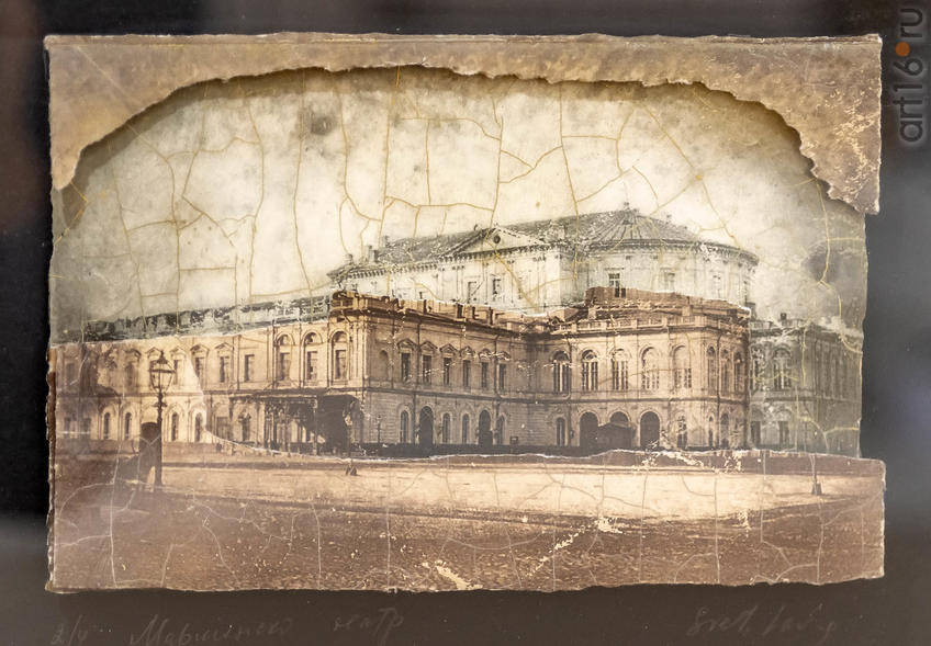 Фото №962187. Мариинский театр. Санкт-Петербург. Из серии ''Театры Моцарта''. Коллаж. 2019