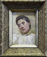 Портрет неизвестной. Кон. 1890-х. Визель Э.О.