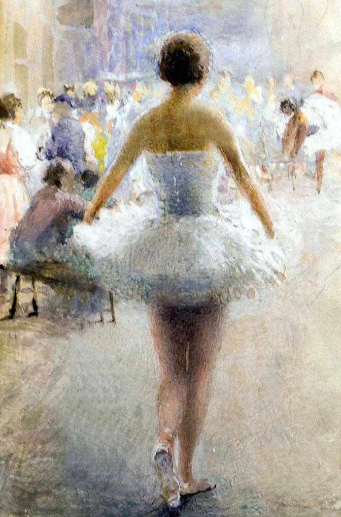 Фото №96225. Репетиция балета. 1930-е. Визель Э.О.
