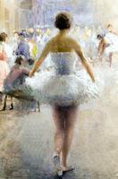Репетиция балета. 1930-е. Визель Э.О.