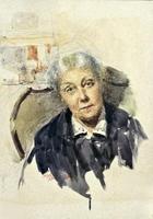 Портрет жены. 1933. Визель Э.О.
