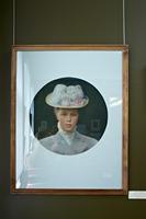 Портрет молодой дамы. 1902. Визель Э.О.