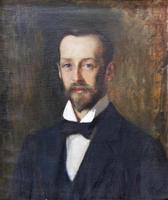 Портрет Э.О.Визеля. 1900-е. Эдельфельдт А.