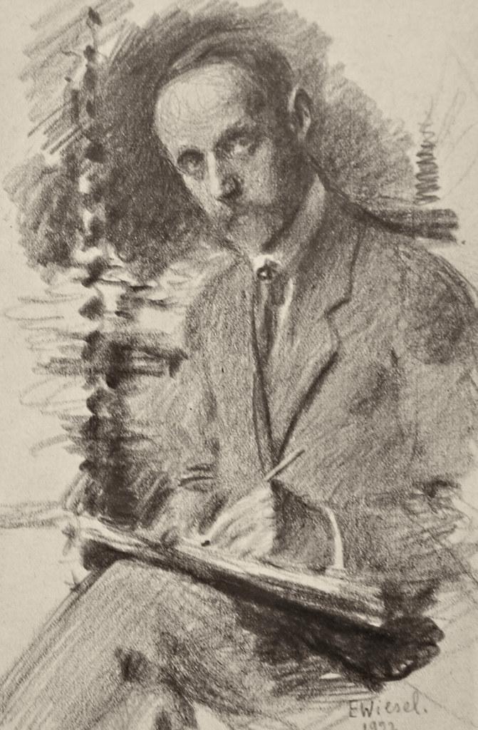 Фото №96285. Автопортрет. 1922. Визель Э.О.