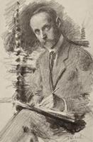 Автопортрет. 1922. Визель Э.О.