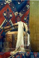 Ларец с полотенцем. 1890-е.  Визель-Штраус А.Э.