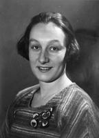 Татьяна Эмильевна Визель. Фотография. 1930-е