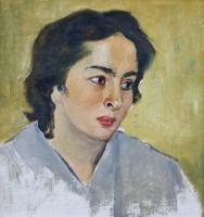 Портрет Е.Б. Козыревой. 1963. Шолпо В.А.