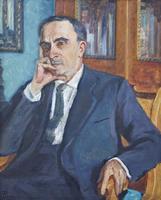 Портрет члена-корреспондента Академии наук СССР, Б.М.Козырева. 1963. Шолпо В.А.