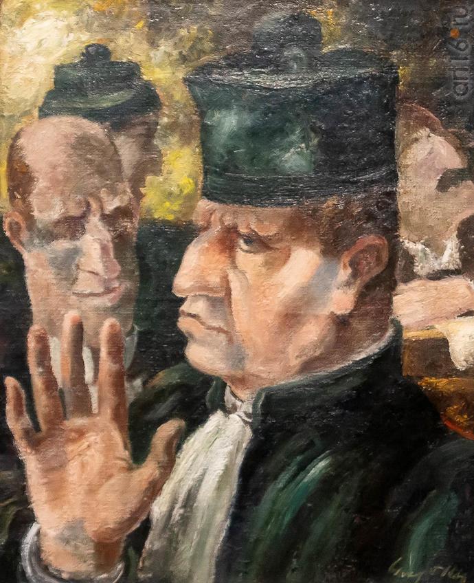 Судебные обращения. 1929. Ив Аликс (1890-1969), Франция::Матисс. Пикассо. Шагал...