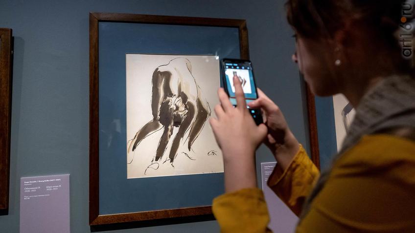 Обнаженная IV, 1920-1921, Георг Кольбе (1877-1947), Германия::Матисс. Пикассо. Шагал...