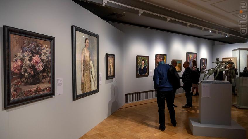 Зал «Живопись и скульптура Германии», фрагмент экспозиции::Матисс. Пикассо. Шагал...