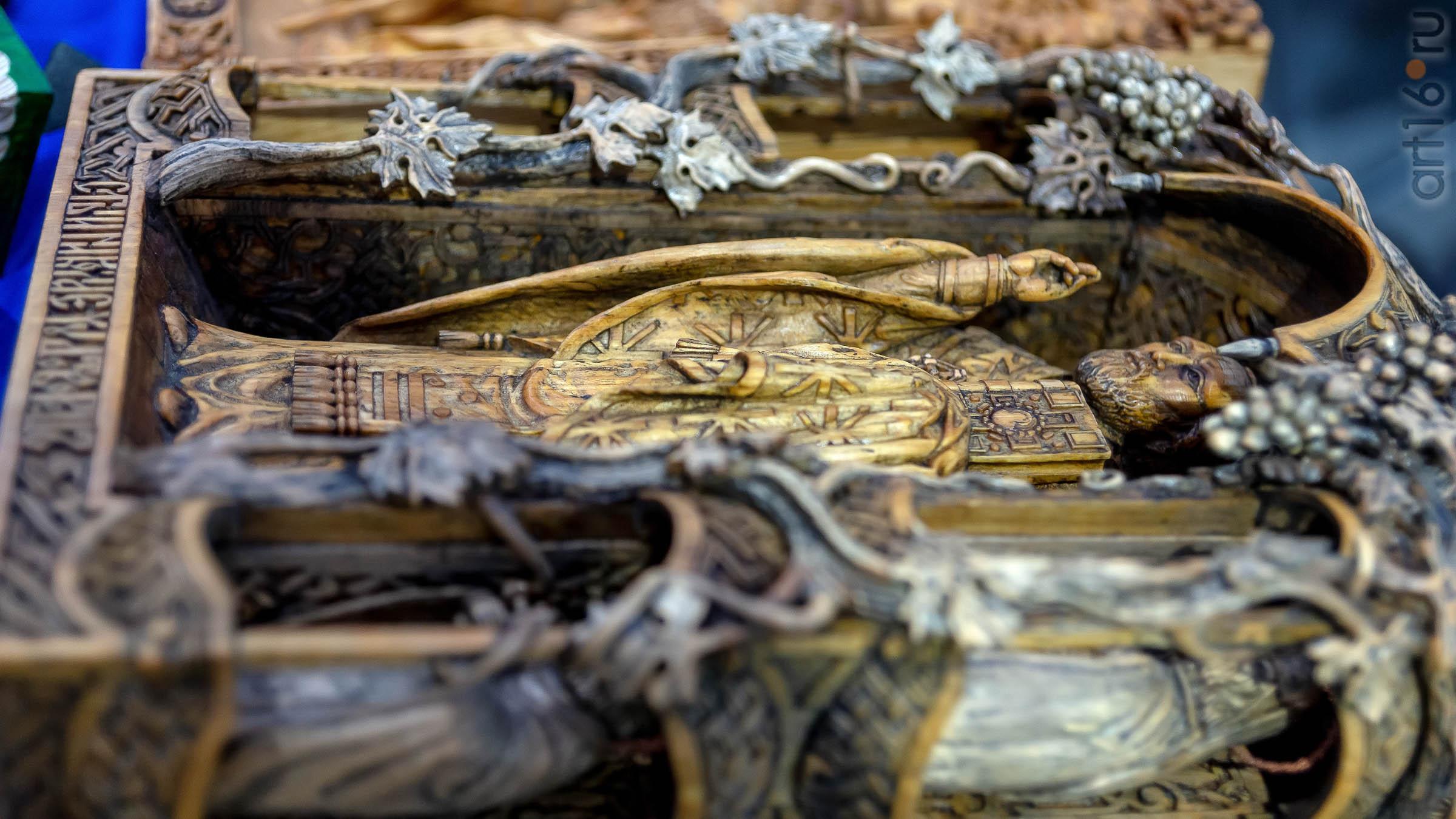 Ручная резьба по дереву. Ошлак Виктор (г. Ульяновск)::Арт-галерея 2019