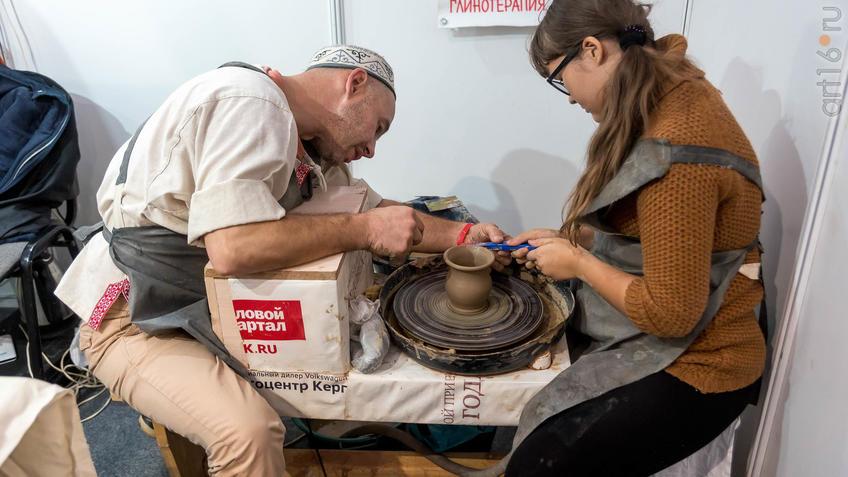 Мастер-класс на гончарном круге, глинотерапия АНО «Гончарный круг», Челябинск::Арт-галерея 2019
