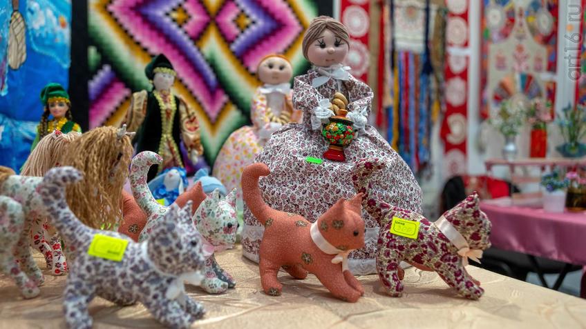 Фото №963851. Тряпичные куклы. Центр народных художественных промыслов РТ