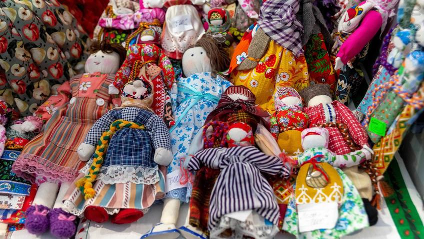 Тряпичные куклы. Тряпичные куклы. Центр народных художественных промыслов РТ::Арт-галерея 2019