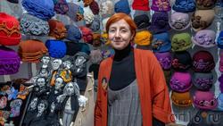Балабанова Ольга, женские шляпки из шерсти, Нижний Новгород