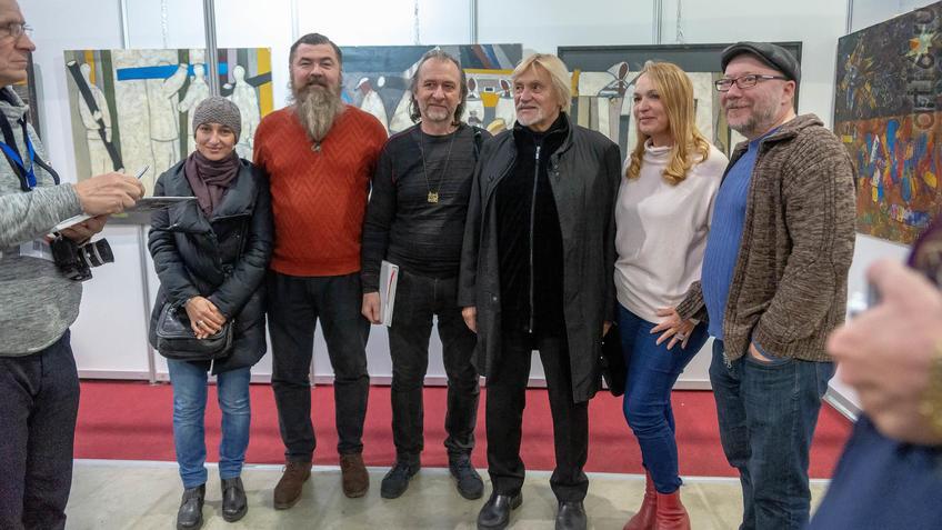 А.Шах, С.Ермолаев, В.Васильев, Е. Острая, А.Тимиршин::Арт-галерея 2019