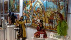 Картины Анастасии Шамовой, куклы Ирины Зубцовой