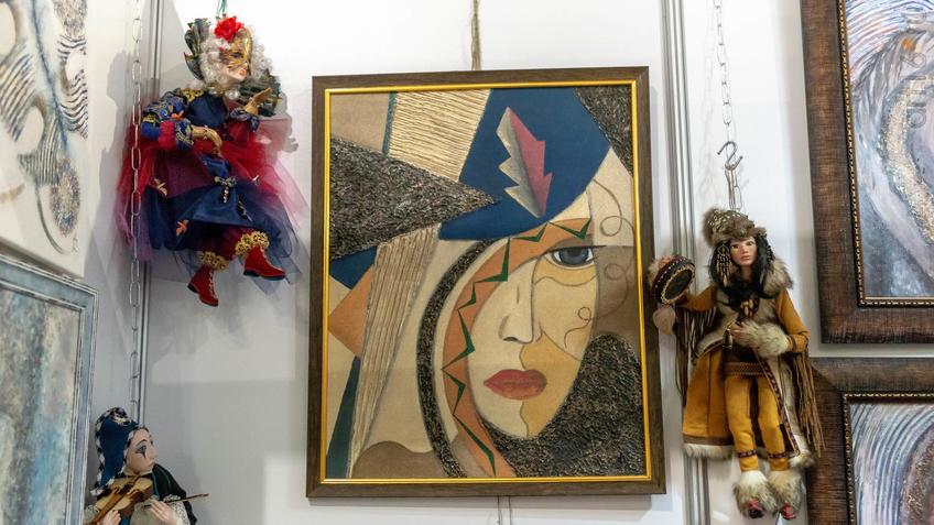 Куклы Аллы Сурковой::Арт-галерея 2019