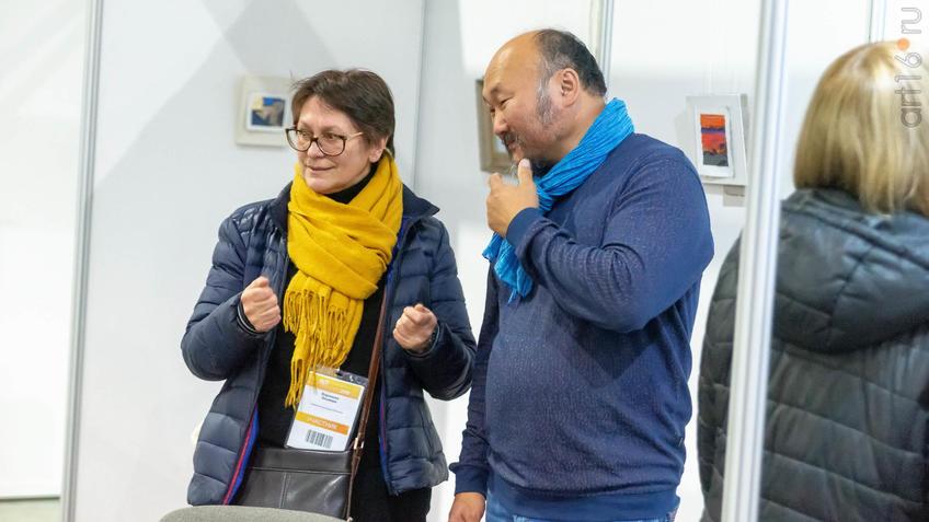Бато Дугаржапов. Общение на АРТ-галерее в Казани::Арт-галерея 2019