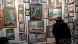 Картины из природных минералов М.Швецова