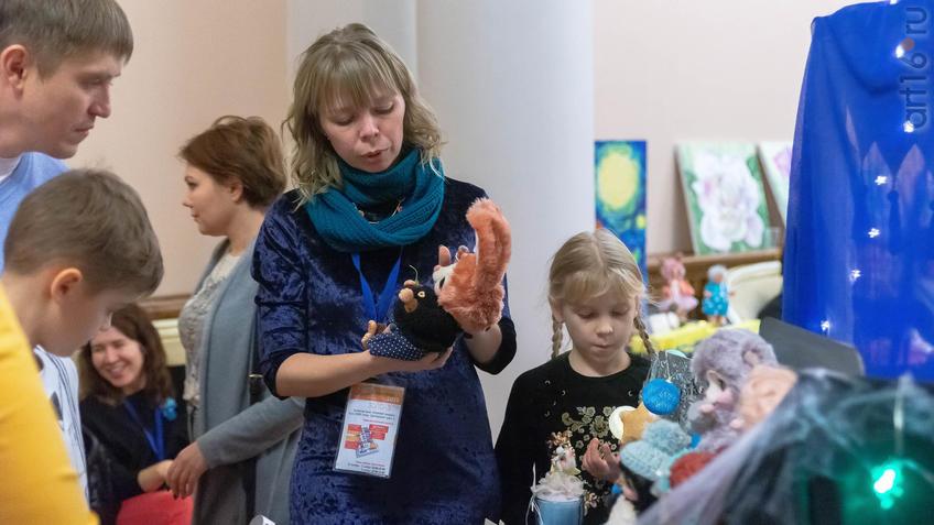 Фото №964261. На Всероссийской выставке авторских кукол и мишек Тедди «Королевство полной луны»