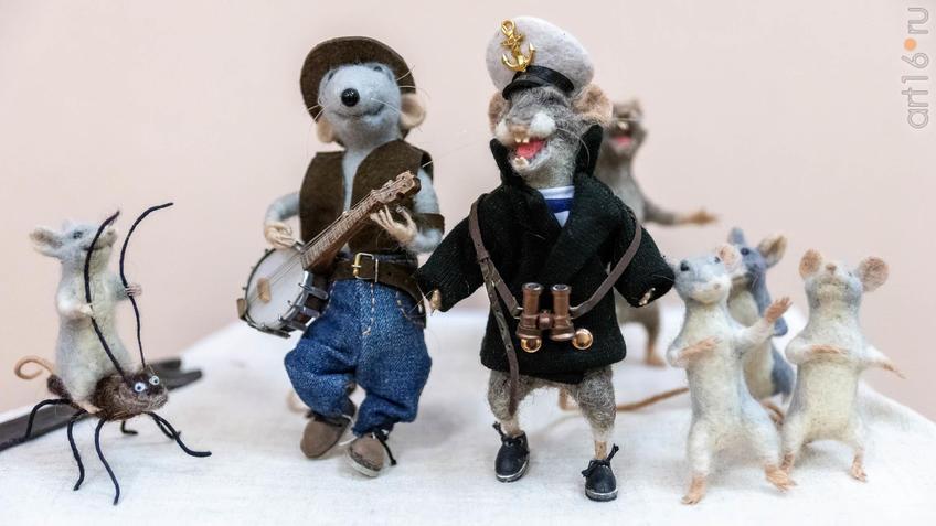 Фото №964286. Певцы и музыканты. Куклы Марины Шубиной