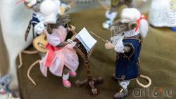 Музыканты.  Куклы Марины Шубиной