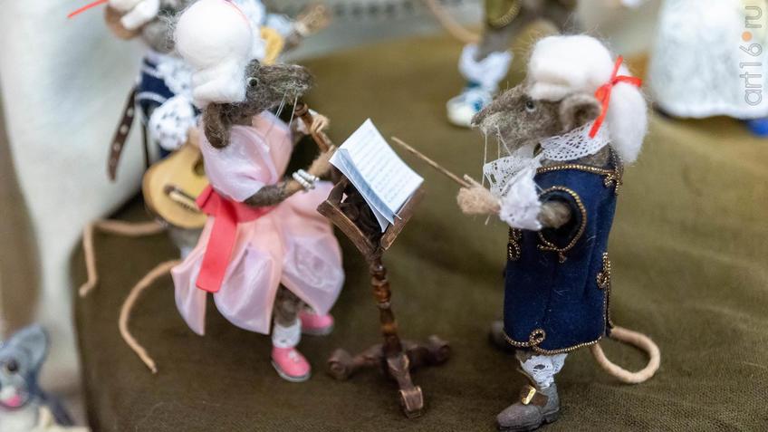 Фото №964291. Музыканты.  Куклы Марины Шубиной