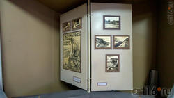 Фрагмент экспозиции в Музее А.М.Горького с. Красновидово