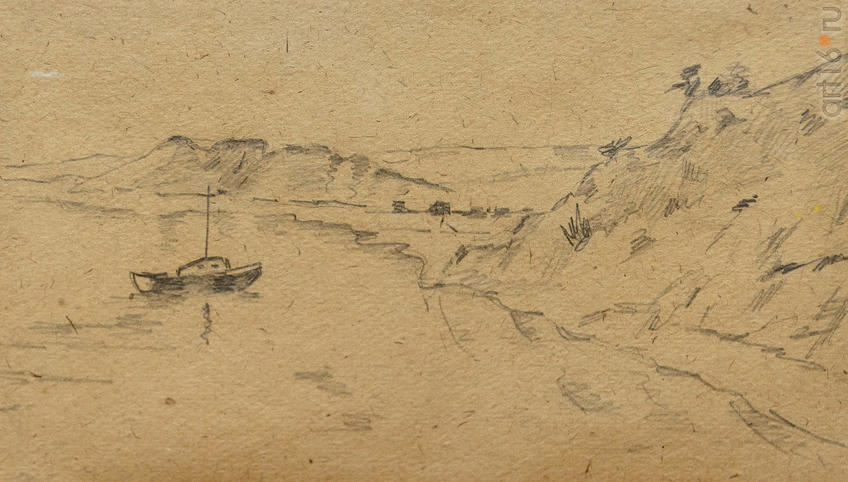 Фото №965439. РС.Красновидово. 1887 г. С рисунка В.Г.Короленко