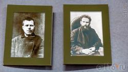 М.А.Ромась. 1880-е гг. / В.Г.Короленко. 1880-е гг. (фото)