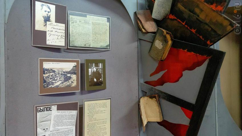 Фото №965454. Фрагмент экспозиции (Музей Горького в с.Красновидово)