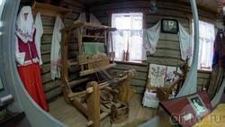 Интерьер крестьянской избы кон. XIX в.