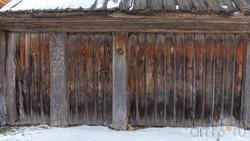 Деревянный забор Музея А.М.Горького в с. Красновидово