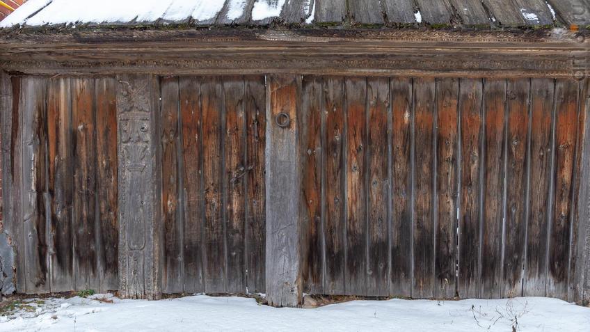 Фото №965659. Деревянный забор Музея А.М.Горького в с. Красновидово