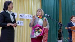Церемония награждения в Доме культуры с.Красновидово в честь 40-летия Музея Горького)