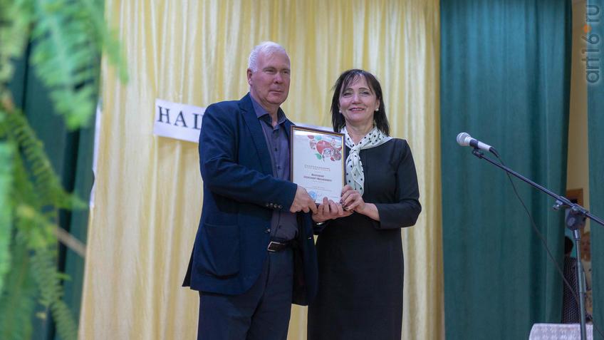 Фото №965794. Церемония награждения в Доме культуры с.Красновидово